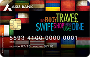 Axis bank forex card activation
